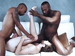 NoirMale - White... noirmale;big-cock;porhub;pornohub;mgvideos;noir-male;bbc;big-black-dick;huge-cock;ebony;threesome;interracial;share;spitroasted,Twink;Muscle;Big Dick;Gay;Hunks