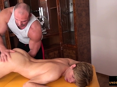Tugged twink... Bareback (Gay),Blowjob (Gay),Gays (Gay),HD Gays (Gay),Massage (Gay),Old+Young (Gay),Twinks (Gay)