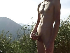 Walking Naked up... masturbate;public;outside;solo-male;uncircumcised;uncircumcised-cock;athletic-male;outdoor-masturbation;nature-masturbation;horny-hiking;naked-hiking;hiking-masturbation;twink;huge-load;male-solo-cum,Solo Male;Gay