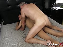 Twink (Gay);Blowjob (Gay);Small Cock (Gay);HD Videos;Victor Cody XXX (Gay);Gay Men (Gay);Amateur Gay (Gay);Gay Bareback (Gay);Old Man Gay (Gay);Old Gay (Gay);Old Gay Men (Gay);Skinny Gay (Gay);Older Gay (Gay) Old man with gray...