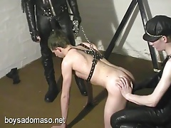 Rabiate Slave... Twinks (Gay);BDSM (Gay);Military (Gay);Spanking (Gay);BSM Fetish Boys;Torment