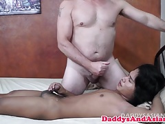 Tiny asian twink... Bareback (Gay);Old+Young (Gay);Twinks (Gay);HD Gays