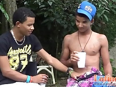 big;cock;latin;twinks;latino;outdoor;suck;oral;blowjob;latinosfun,Twink;Latino;Blowjob;Big Dick;Gay Two Latin gay...