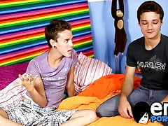 Twink (Gay);Big Cock (Gay);Blowjob (Gay);Cum Tribute (Gay);HD Videos;Anal (Gay) Gorgeous skinny...
