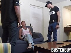 Deviant Brandon Blake strikes anal deal with gay officer