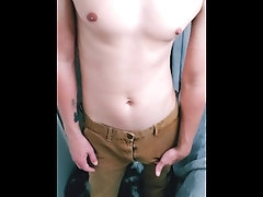 Playing and... outlining-dick;teasing,Twink;Fetish;Solo Male;Gay