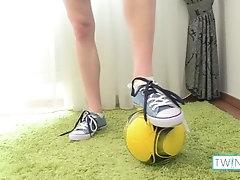 Cute Football... twink;twinqs;blonde;angel-r;sneakers;fitness-body;solo-male;socks;soccer-ball;scars;big-dick;masturbation;undressing;underwear;abs;gay,Twink;Solo Male;Big Dick;Gay;Hunks;Handjob;Cumshot;Feet