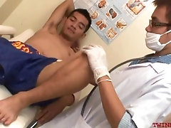 doctortwink,Bareback;Asian;Twink;Gay;Amateur;Cumshot Examined twink...