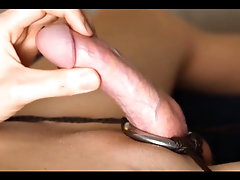 Hot Bodied Twink Strokes Glorious Throbbing Cock, Cums Twice
